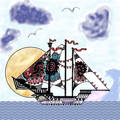 love boat | CaROL | Digital Drawing | PENUP