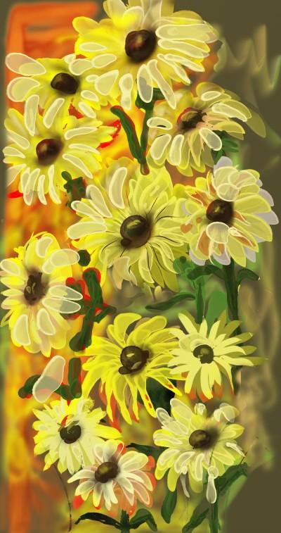 Sunflowers | lopz | Digital Drawing | PENUP