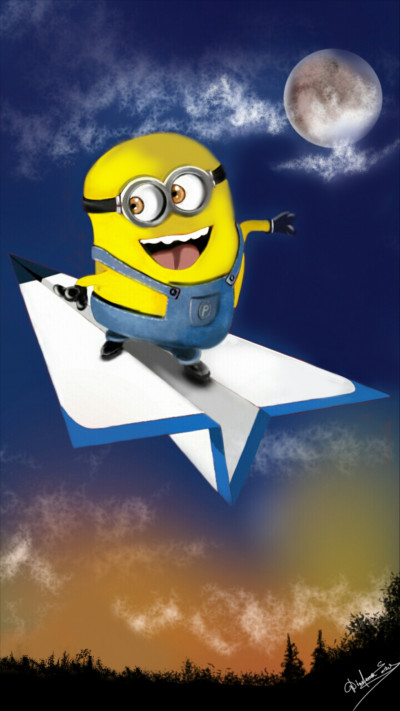 Penup wants yellow?  I'm coming!!!   Abex   Digital Drawing   PENUP