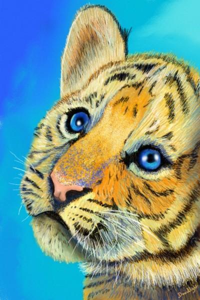 Little tiger | Doodilight | Digital Drawing | PENUP