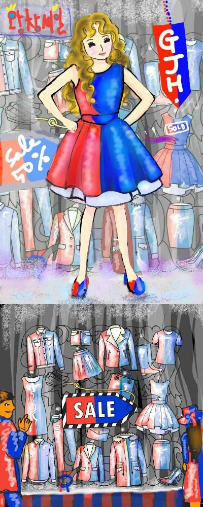 Dress Sold! (@GJH) 장사 잘됨ㅋ  | Nokhong | Digital Drawing | PENUP