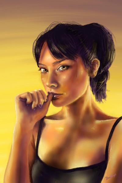 Yellow light  | Doodilight | Digital Drawing | PENUP