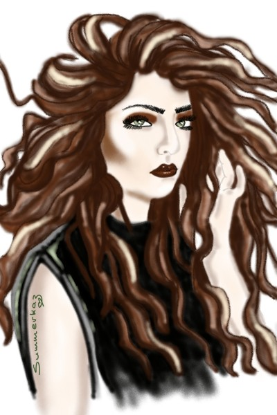 Big Hair | SummerKaz | Digital Drawing | PENUP