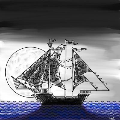 moonlight | tinie | Digital Drawing | PENUP