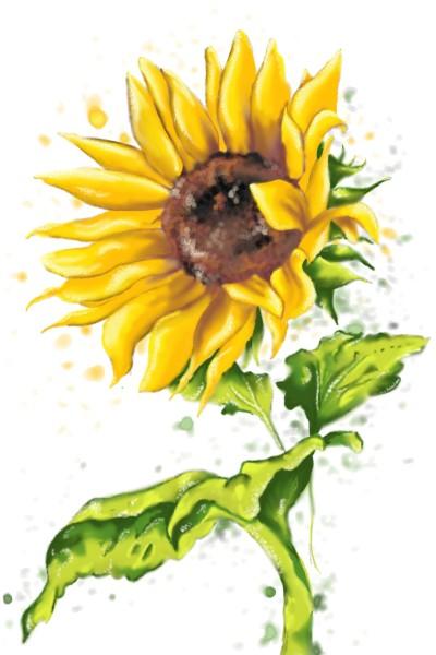 Sunflower  | Savannah | Digital Drawing | PENUP