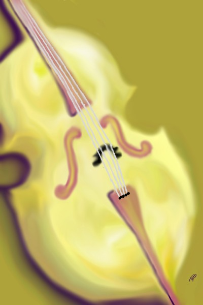 they call it mellow cello... I mean yellow | Rebecca | Digital Drawing | PENUP