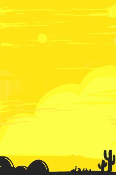 Desert rise | Dex.R | Digital Drawing | PENUP