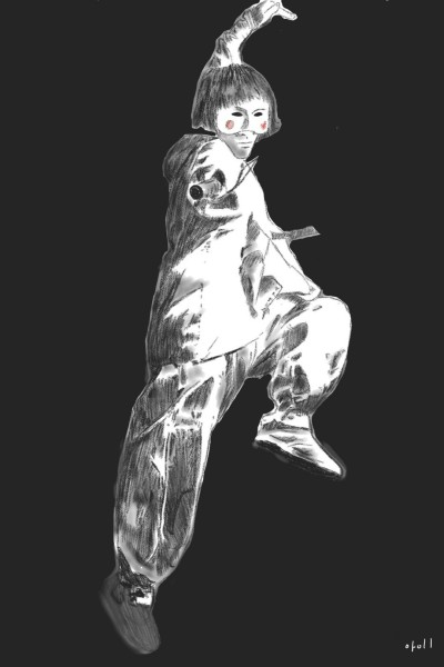 Gakshital 각시탈 | oroll | Digital Drawing | PENUP