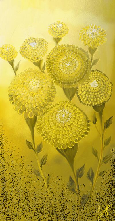 Marigolds | Sugan | Digital Drawing | PENUP