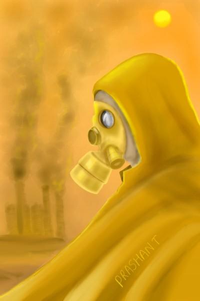 Stop Pollution!! | Prashant | Digital Drawing | PENUP