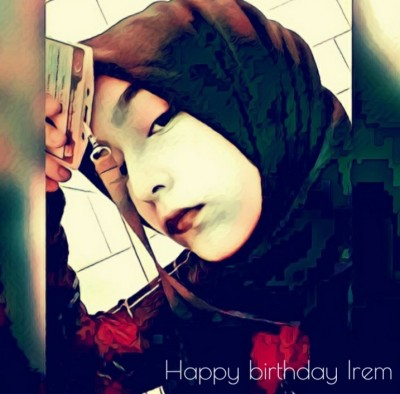HAPPY BIRTHDAY IREM  | Onkar_oo7 | Digital Drawing | PENUP