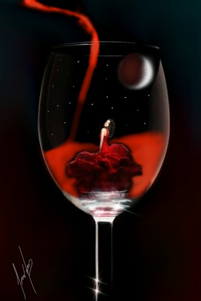 The body of a good wine | cesar | Digital Drawing | PENUP