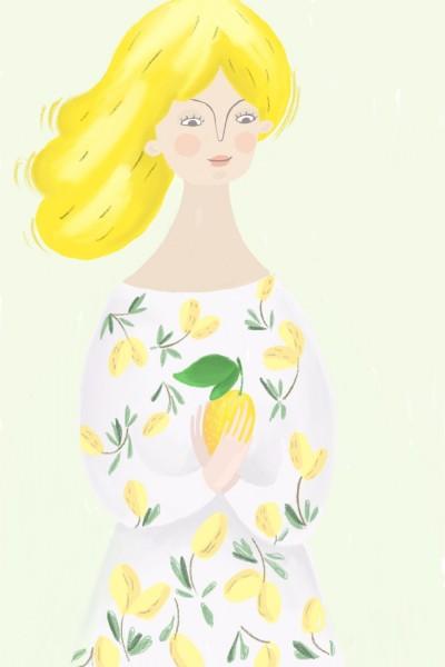 lady lemon  | Alex | Digital Drawing | PENUP