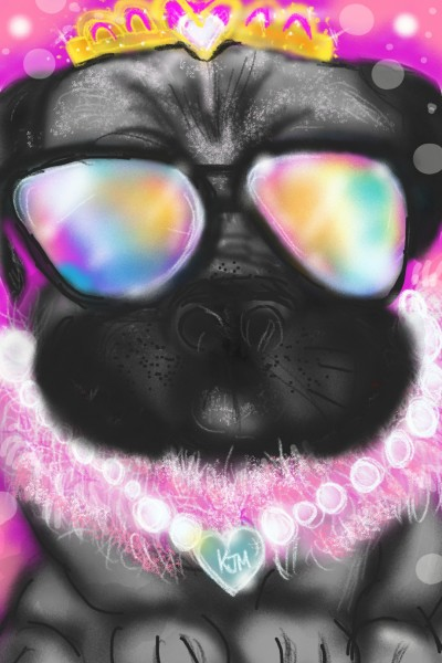 ♡Princess Pug ♡ | kitt | Digital Drawing | PENUP