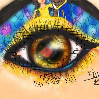 ♡Beauty & the beast eye♡ | kitt | Digital Drawing | PENUP