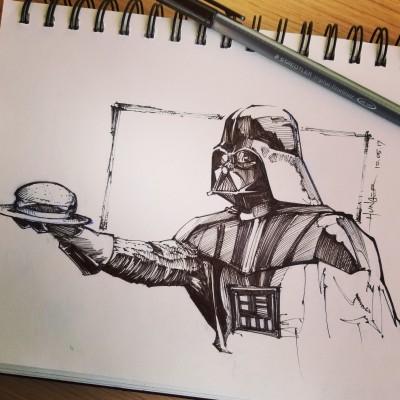 The Dark Side Haz Cheezburger | Hunger_art | Digital Drawing | PENUP