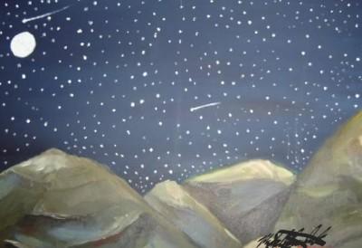 starry night | mburdick | Digital Drawing | PENUP