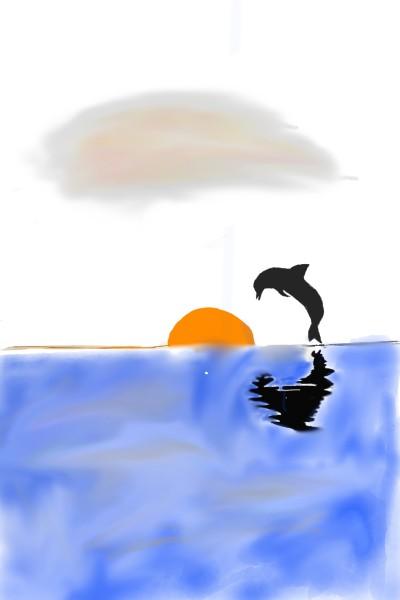dolphin  | shaker.omr.g | Digital Drawing | PENUP