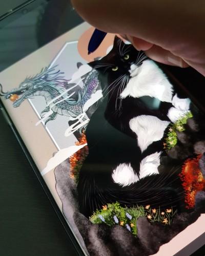 cat   kimdajeong   Digital Drawing   PENUP