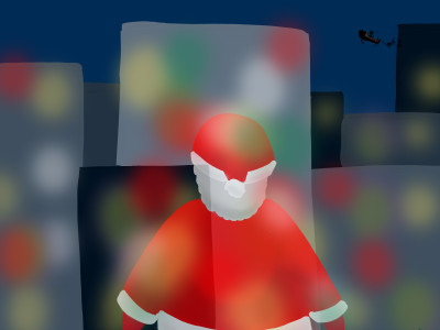 Santa Claus :3 | Luckylu23 | Digital Drawing | PENUP