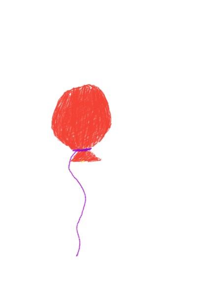 빨간풍선 | diamondqueenV | Digital Drawing | PENUP