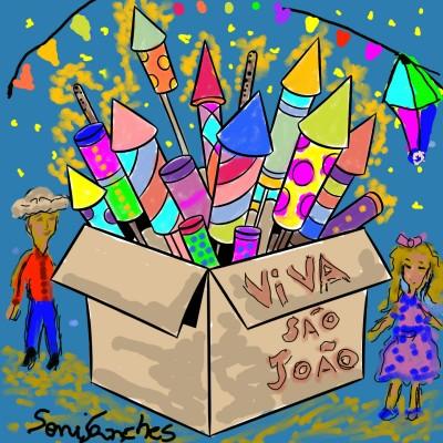 Festa Junina | SMS | Digital Drawing | PENUP