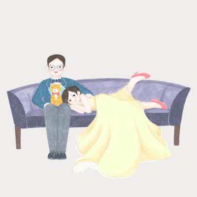 Wedding anniversary    greeda   Digital Drawing   PENUP