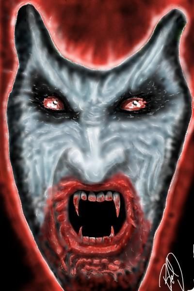 vampire in red   nyyankeehitman   Digital Drawing   PENUP