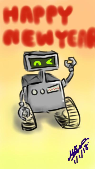 robot 2   Mise   Digital Drawing   PENUP
