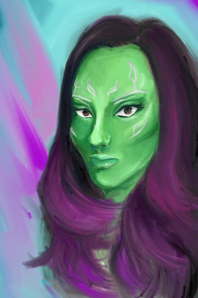 Gamora | heihei | Digital Drawing | PENUP