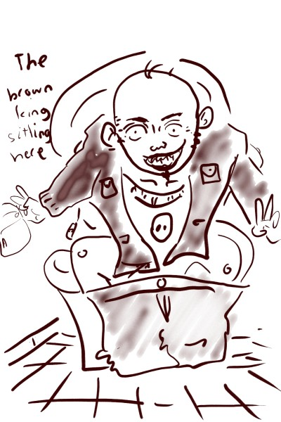 The Brown King   ashikabi   Digital Drawing   PENUP