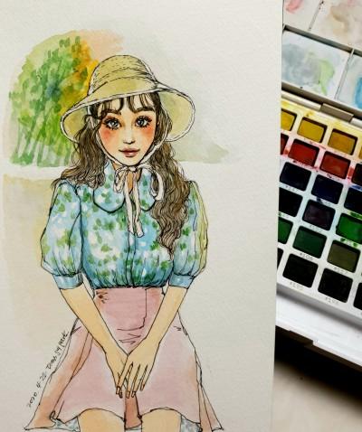 수작업 | Iness_j.y_park | Digital Drawing | PENUP