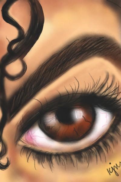 ♡Let's draw eyes ♡ | kitt | Digital Drawing | PENUP