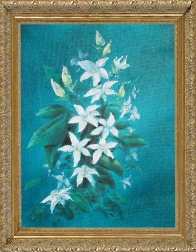 Sampaguita Flower - Oil on canvas | Grafixguru | Digital Drawing | PENUP