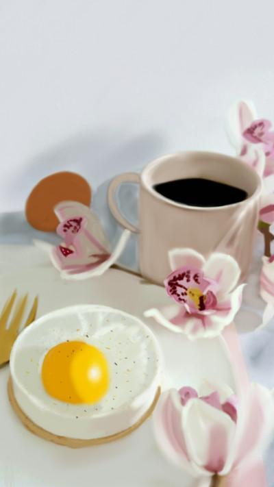 Breakfast Lunch  or Dinner?    4the_birds.   Digital Drawing   PENUP