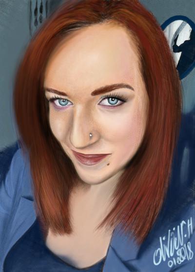 Natasha | artgraphit | Digital Drawing | PENUP