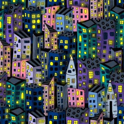 nighttime in the city   lisa.starr87   Digital Drawing   PENUP