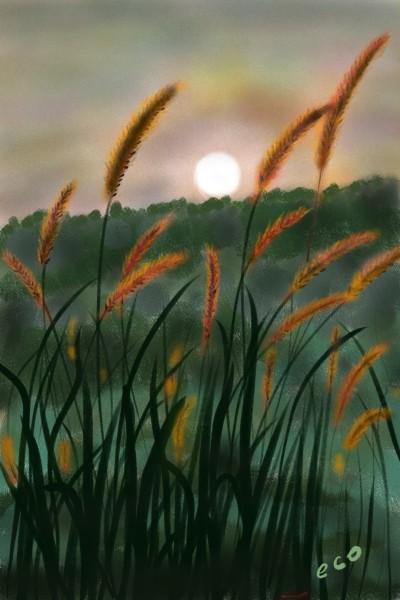 Landscape Digital Drawing | eco | PENUP