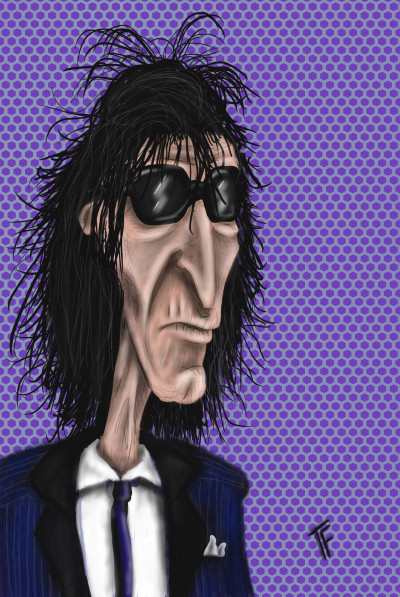 John Cooper Clarke  | TonyFarvio | Digital Drawing | PENUP