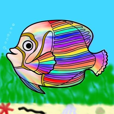 Coloring Digital Drawing | mryhas | PENUP