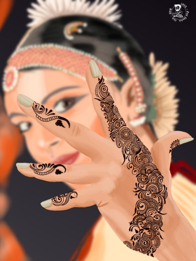 Henna Hand | Lucs | Digital Drawing | PENUP