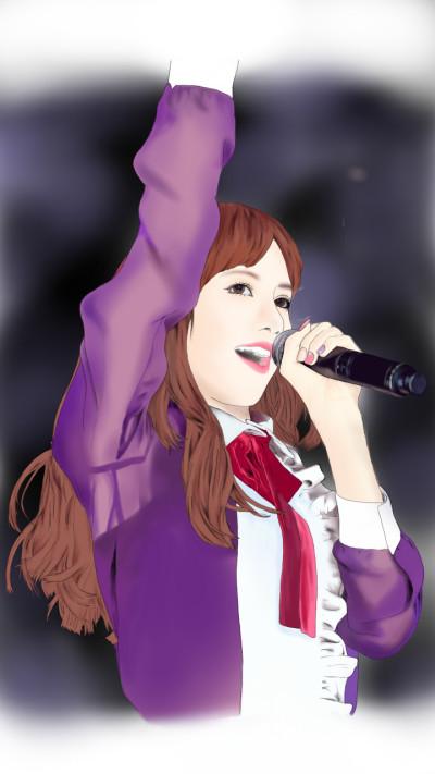 purple dress♡   Mise   Digital Drawing   PENUP