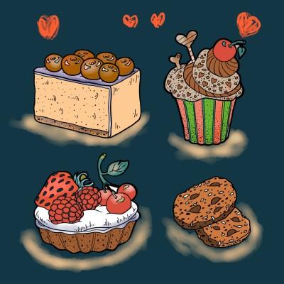 Cake ☆☆   regina   Digital Drawing   PENUP