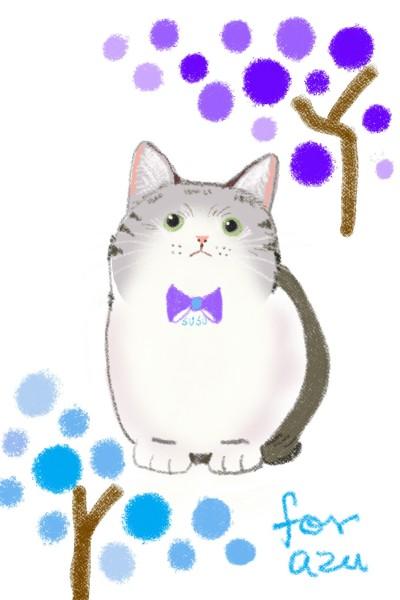 For~ 親愛友人azu | June | Digital Drawing | PENUP