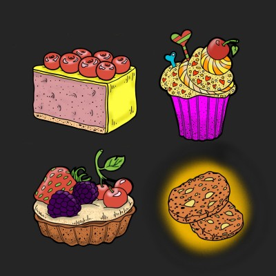 Cakes. | patrick | Digital Drawing | PENUP
