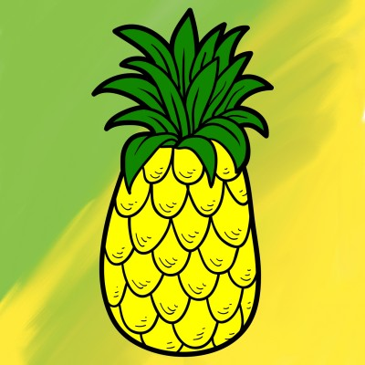 pineapple on pizza? | ashlynnthompson | Digital Drawing | PENUP