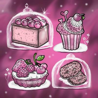 Dessert Anyone? | LindyCoetzee | Digital Drawing | PENUP