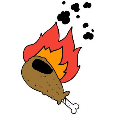Burnt Chicken LOL WHY!!!! | ashlynnthompson | Digital Drawing | PENUP