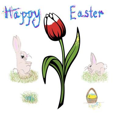 Happy Easter | Trish | Digital Drawing | PENUP
