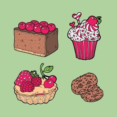 cakes and cookies | dena | Digital Drawing | PENUP